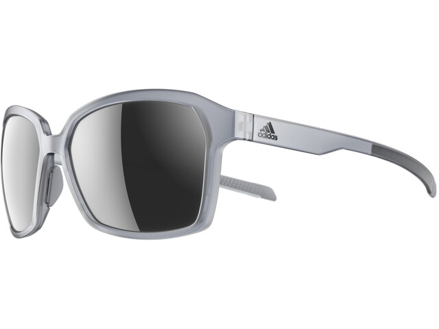 adidas Aspyr Glasses grey transparent/chrome